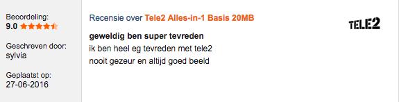 Tele2 internet ervaringen